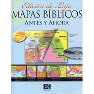 Mapas Bíblicos Antes y Ahora: Edición de Lujo | Then and Now Bible Maps: Deluxe Edition