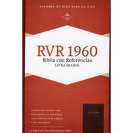 Biblia RVR 1960 Letra Grande con Referencias (Piel fabricada)