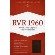 Biblia RVR 1960 Letra Grande con Referencias (Imitación piel)