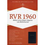 Biblia RVR 1960 Letra Súper Gigante con Referencias