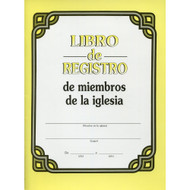Libro de Registro de Miembros de la Iglesia | Log Book for Church Members