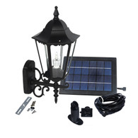Large Outdoor Solar powered LED Wall Light Lamp SL-7402