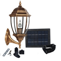 Large Outdoor Solar powered LED Wall Light Lamp SL-7401