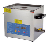 Kendal Commercial grade 660 watts 3.17 gallon heated ultrasonic cleaner HB612