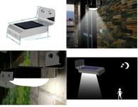 Kendal Solar Powered Motion Sensor LED Light 001