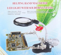 Kendal Soldering Helping Hand Magnifier with 2 LEDs light
