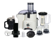 10 in 1 food processor juicer blender / meat paste mincer slicer / egg whisk / dry mill / soybean milk maker