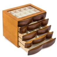 Wood Jewelry Box Case SI-1607B