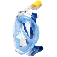 180° View Full-Dry Snorkel Mask with Earplug, Action Camera Attachment, Anti-fog and Anti-leak Technology HHL001