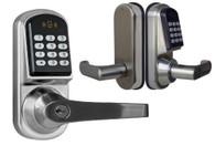 Kendal Electronic Keyless Deadbolt Door Lock Unlock with code, mifare cards, and mechanical key S200MF-1