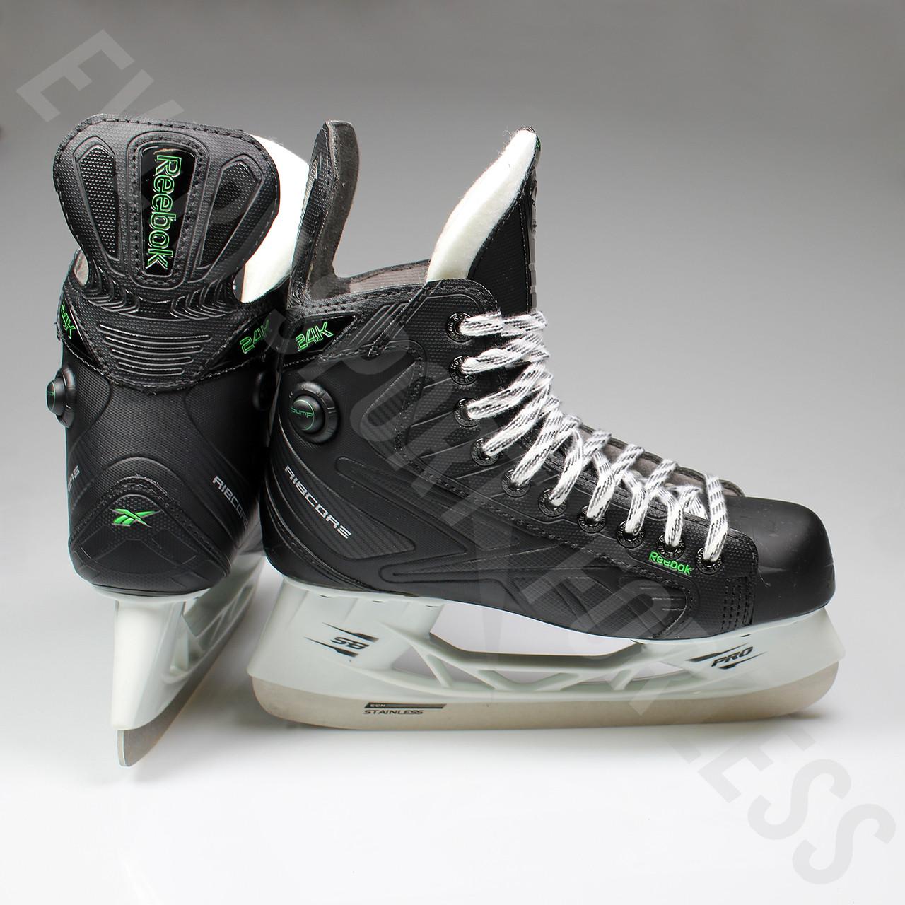 reebok ice skates reebok ribcor 24k pump junior ice hockey skates o