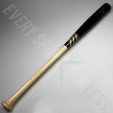 Marucci AP5 Pro Maple Wood Bat - Natural and Black