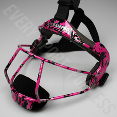 Champro The Grill Softball Fielders Mask Youth - Pink Camo