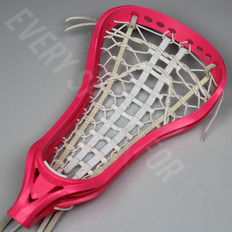 Brine Dynasty Strung Womens Lacrosse Head - Neon Pink
