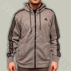 Adidas Essentials 3 Stripe FZ Hoodie