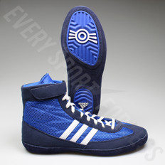 Adidas Combat Speed 4 Wrestling Shoe S77934 - Royal/White/Navy