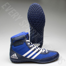 Adidas Mat Wizard 3 Wrestling Shoes AQ6201 - Royal/White/Navy