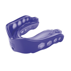 Shock Doctor Gel Max Youth Convertible Mouthguard - Purple