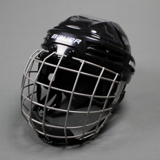 Bauer IMS 5.0 Ice Hockey Helmet Combo - Black