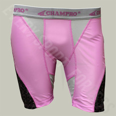 Champro Line-Drive Womens Softball Sliding Short - Pink