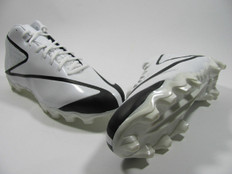 Reebok Pro Zig M5 Mid Mens Football Cleats-White/Black
