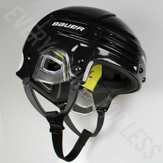 Bauer Re-Akt 75 Senior Ice Hockey Helmet - Black
