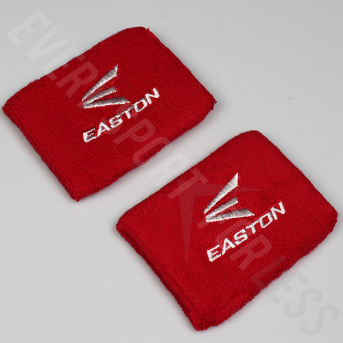 "Easton 4"" Wrist Band - Red/White"