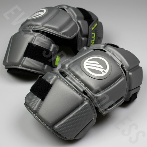 Maverik Lacrosse MX Junior Arm Pads - Gray