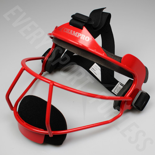 Champro The Grill Softball Fielders Mask Youth - Scarlet