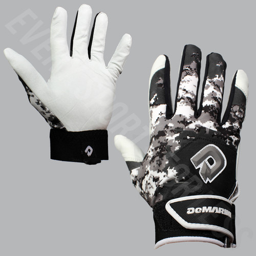 Demarini Digi II Camo Baseball Batting Gloves - Youth