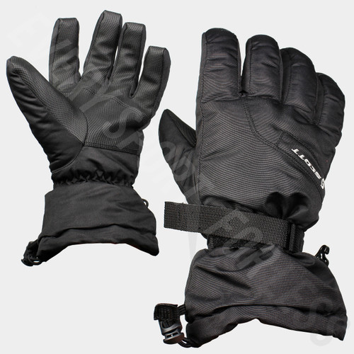 Scotts Ultimate Warm Unisex Snow Gloves - Black