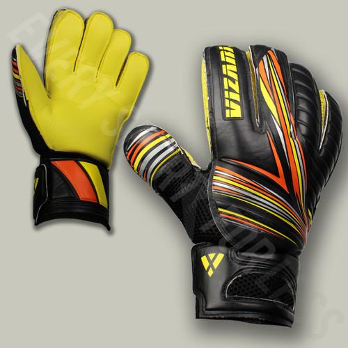 Vizari Supra FRF Soccer Goalkeeper Gloves - Black/Yellow