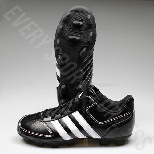 Adidas Tater TPU 4k Youth/Junior Baseball Cleats G66359 - Black and White