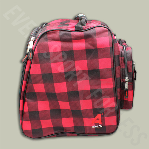 Athalon Light & Go Ski/Snowboard Boot Bag - Red/Black