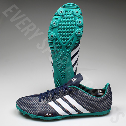Adidas Adizero Ambition 3 Mens Running Spikes AQ5592 - Navy/White/Green