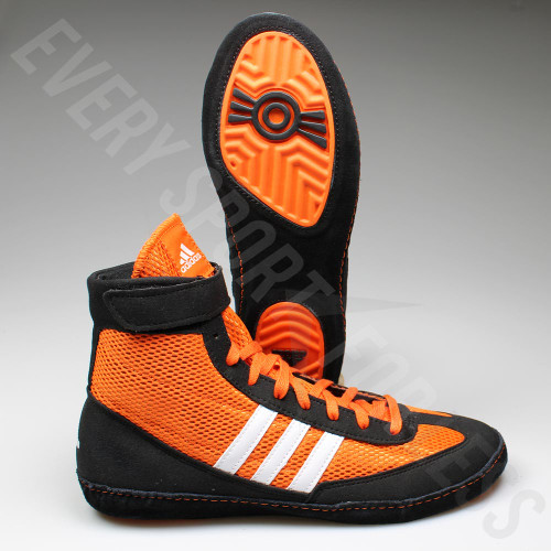 Adidas Combat Speed 4 Senior Wrestling Shoes M18782 - Orange/Black/White