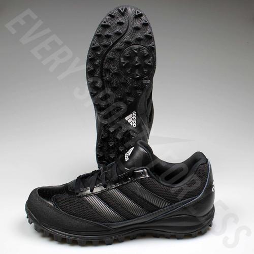 Adidas Turf Hog LX Low Senior Football Cleats G67096 - Black/Titanium