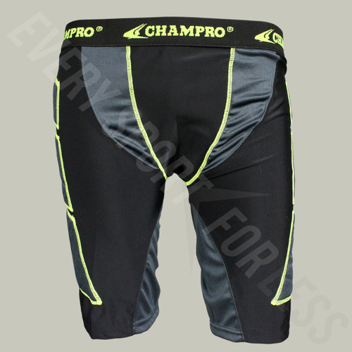 Champro On Deck Sliding Shorts Senior - Black