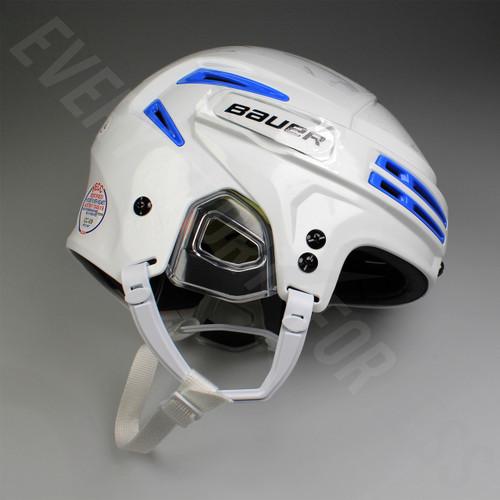 Bauer Re-AKT 75 Senior Ice Hockey Helmet - White / Columbia
