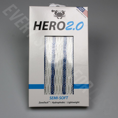 East Coast Dyes Hero 2.0 Semi-Soft Lacrosse Mesh - Various Colors