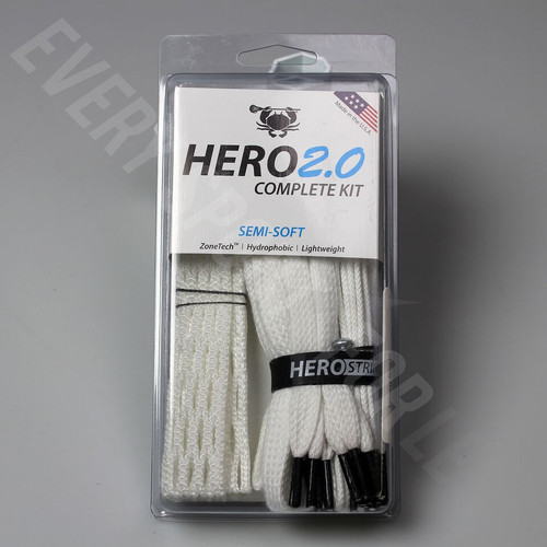 East Coast Dyes Hero 2.0 Semi-Soft Complete Lacrosse Stringing Kit
