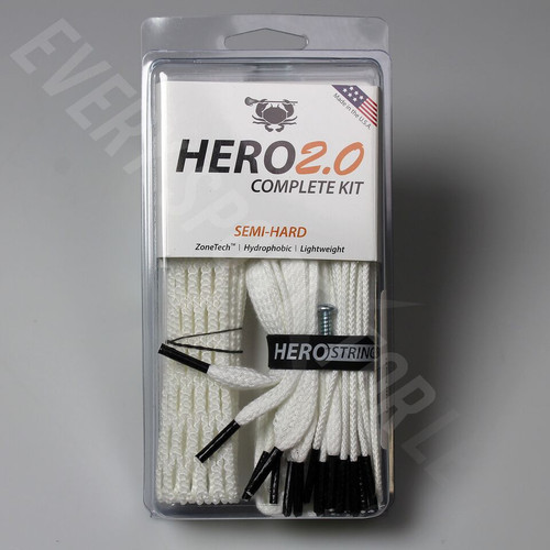 East Coast Dyes Hero 2.0 Semi-Hard Complete Lacrosse Stringing Kit