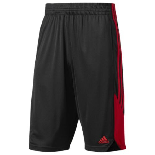 Adidas New Speed Adult Shorts BP5192 - Black/Scarlet Red