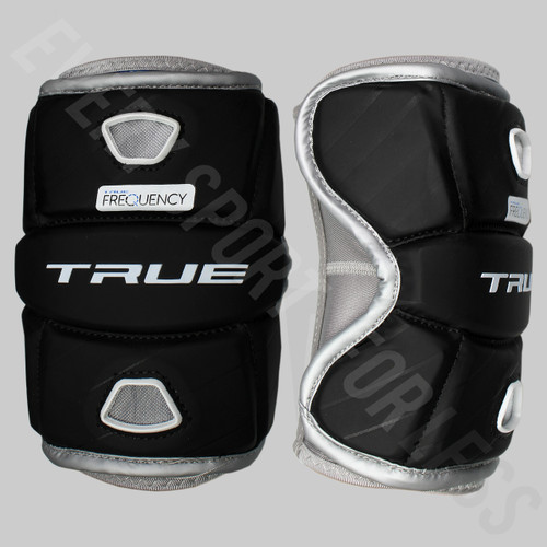 True Frequency Men's Lacrosse Elbow Pads - Black