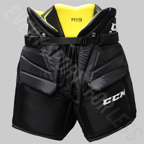CCM Premier R1.9 Intermediate Hockey Goalie Pants HPGR1.9 - Black