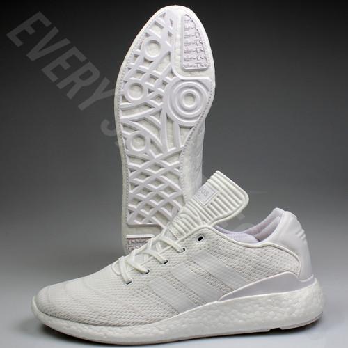 Adidas Busenitz Pure Boost PK Skateboard Shoes BB8376 - White