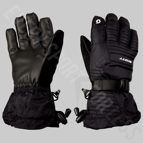 Scott Ultimate Junior Winter Gloves - Black