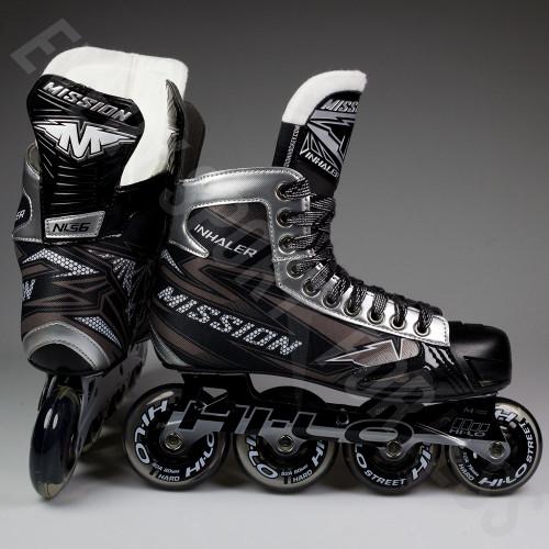 Bauer RH Inhaler NLS 6 Junior Inline / Roller Hockey Skates