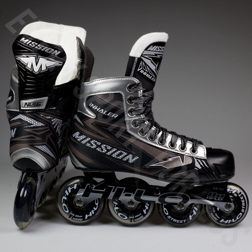 Mission Inhaler NLS 6 Senior Inline / Roller Hockey Skates