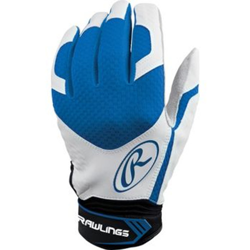 Rawlings Excellence Senior Batting Gloves - Royal